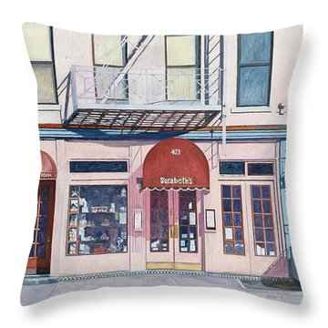 Sarabeths Throw Pillow by Anthony Butera