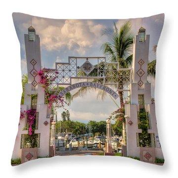 Sarasota Bayside Throw Pillow