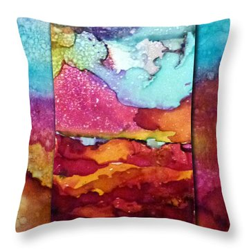 Sarasota Sunrise Throw Pillow