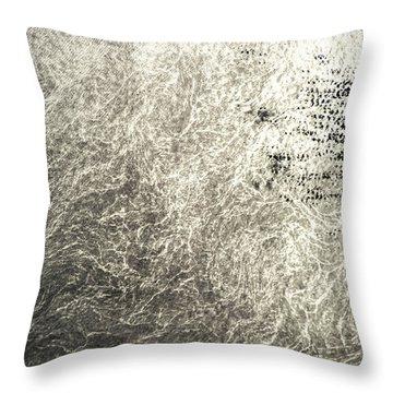 Satellite View Of North Atlantic Ocean Throw Pillow