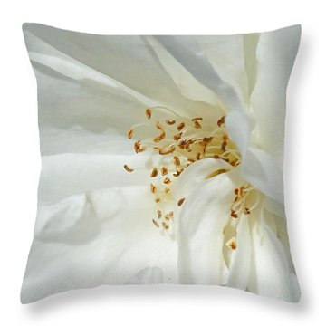 Satin Sheets Throw Pillow by Steve Taylor