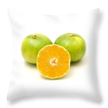 Throw Pillow featuring the photograph Satsuma  by Fabrizio Troiani