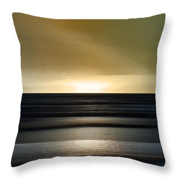 Sauble Beach - Twilight Throw Pillow