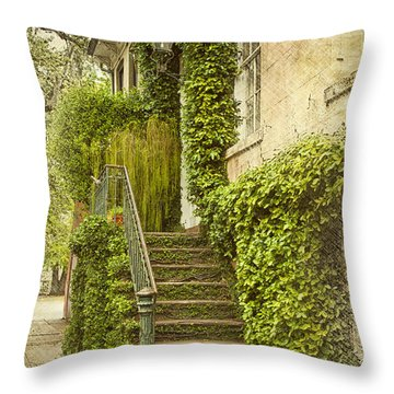 Savannah Doorway 1 Throw Pillow