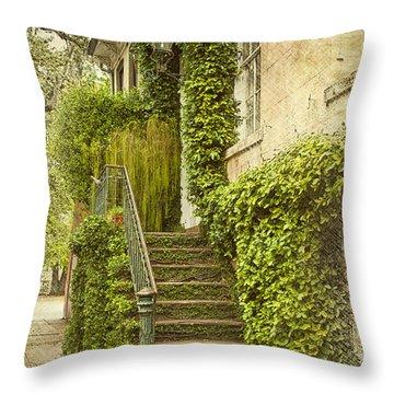 Savannah Doorway 1 Throw Pillow by Carrie Cranwill