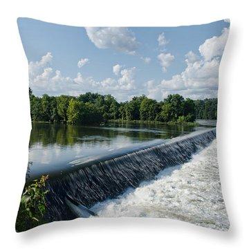 Savannah Rapids Throw Pillow