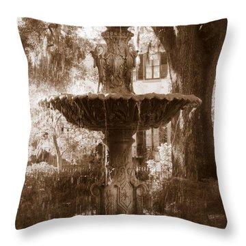 Savannah Romance Throw Pillow by Carol Groenen
