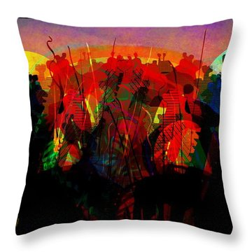 Savannah Safari Throw Pillow