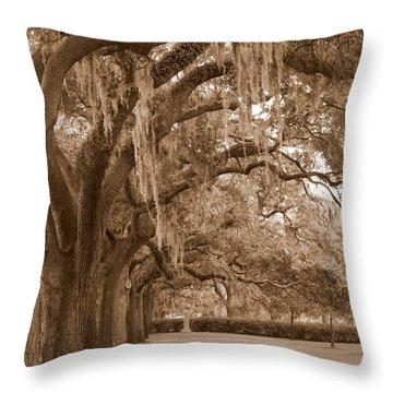 Savannah Sepia - Emmet Park Throw Pillow by Carol Groenen