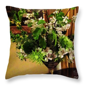 Savannah Still Life Throw Pillow by Joan  Minchak