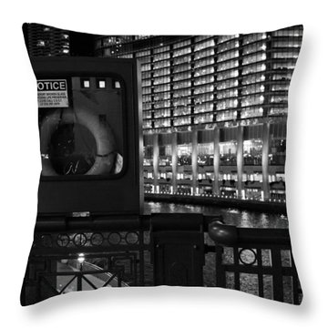 Save A Life On The River Throw Pillow by Melinda Ledsome