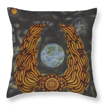 Savior Throw Pillow