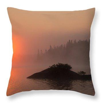 Sawbill Surprise Throw Pillow