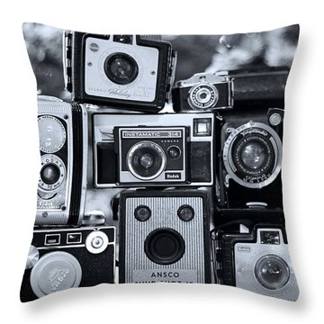 Throw Pillow featuring the photograph Say Cheese by Elizabeth Budd
