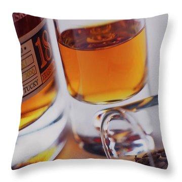 Sazerac Rye Throw Pillow