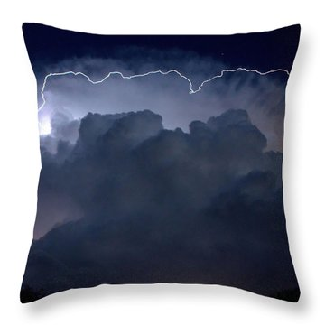 Throw Pillow featuring the photograph Scalloped Edge by Charlotte Schafer