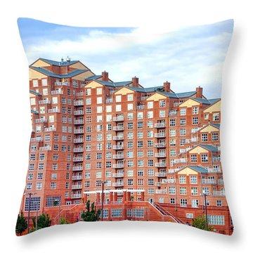 Scarlett Place Baltimore Throw Pillow