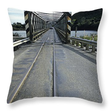 Scary N Z Hiway Throw Pillow