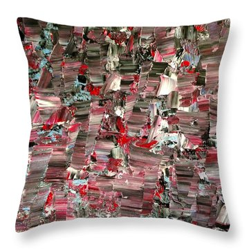 Scattered Ash 1946 Throw Pillow