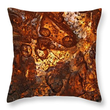 Scattering Throw Pillow