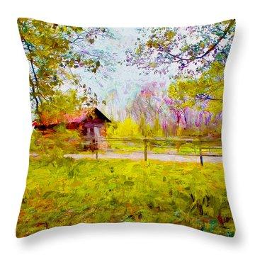 Scenery Series 03 Throw Pillow