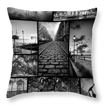 Scenes From Savannah Throw Pillow
