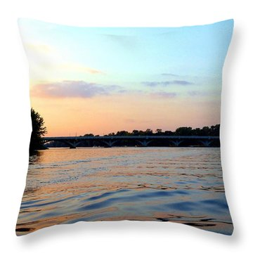 Scenic Minnesota 3 Throw Pillow