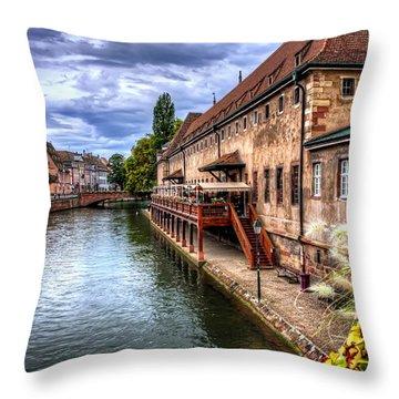 Alsace Photographs Throw Pillows