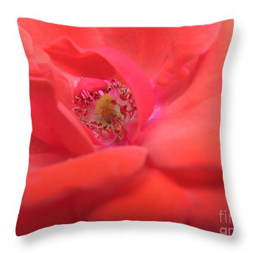 Scent Of Pleasure Throw Pillow
