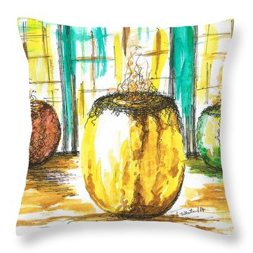 Scented Holders Throw Pillow