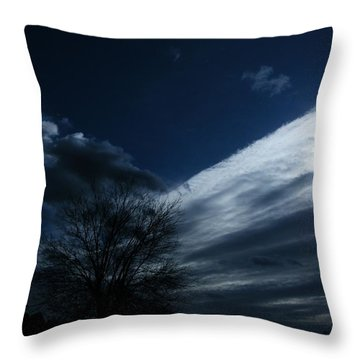 Schattenlicht - Shadowlight Throw Pillow by Mimulux patricia no No