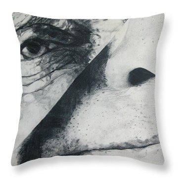 Schism Throw Pillow by Rory Sagner