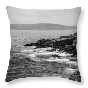 Schoodic Throw Pillow