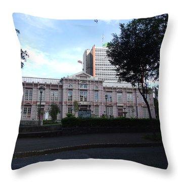School Costa Throw Pillow