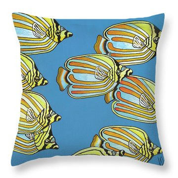 School Is In Session Throw Pillow