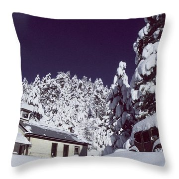 Schoolhouse Throw Pillow