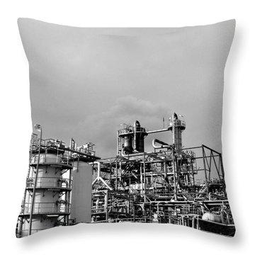 Throw Pillow featuring the photograph Science Fiction by Maja Sokolowska