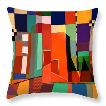 Science Museum Fort Worth Tx Throw Pillow