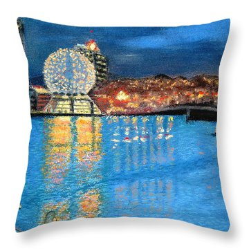 Science World Twilight Throw Pillow