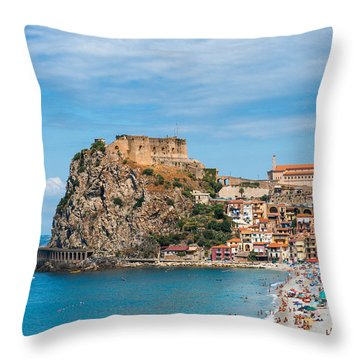 Scilla Castle Throw Pillow