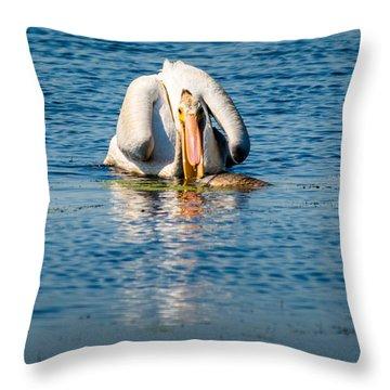 Scooper Throw Pillow