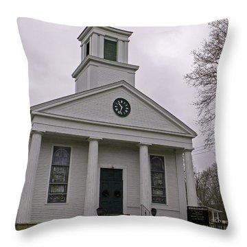 Scotland Congregational Church Throw Pillow