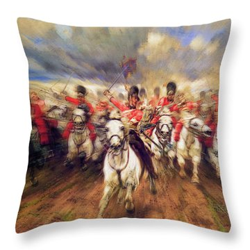Scotland Forever During The Napoleonic Wars Throw Pillow