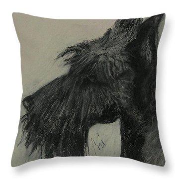 Scottish Delight Throw Pillow by Cori Solomon