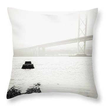 Scottish Transport Throw Pillow