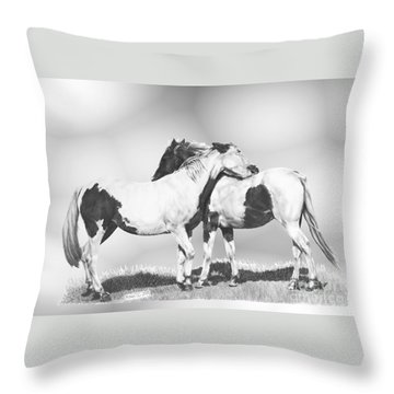 Scratch Throw Pillow