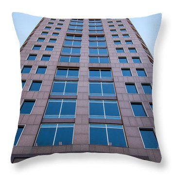 Scratching The Sky Throw Pillow