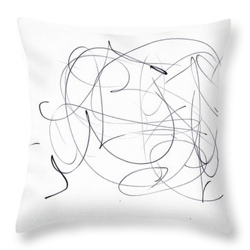 Scrbble For 'man's Best Friend' Throw Pillow