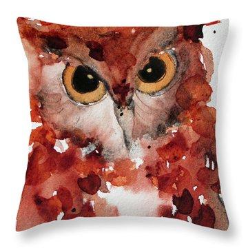 Screech Throw Pillow