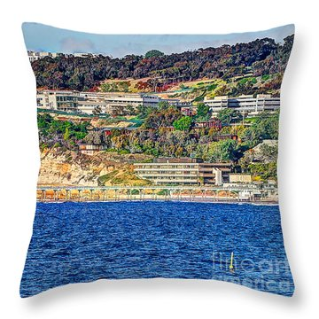 Scripps Institute Of Oceanography Throw Pillow